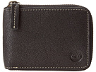 Cavalieri Leather Zip Around Wallet