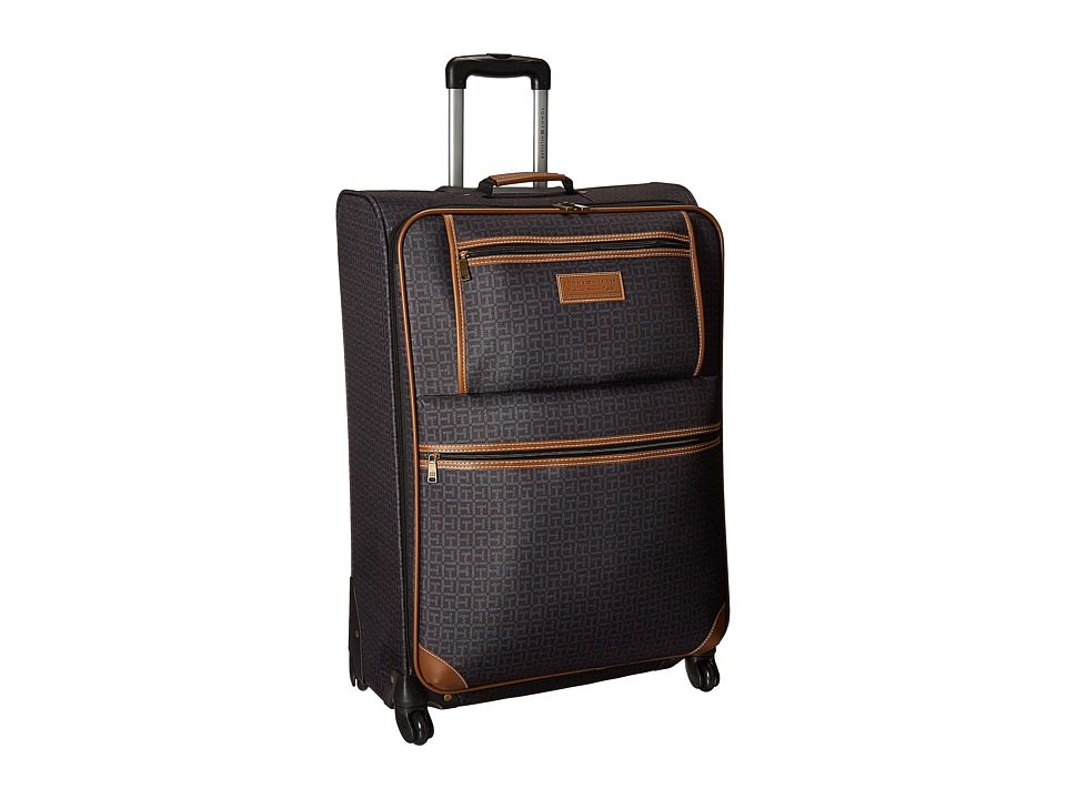 Tommy Hilfiger - Signature 2.0 28 Upright Suitcase (Black) Luggage