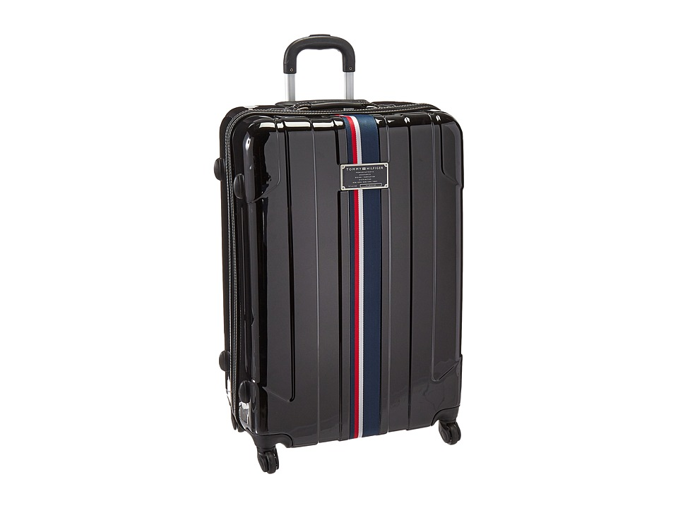 Tommy Hilfiger - Lochwood Upright 28 Suitcase (Black) Luggage