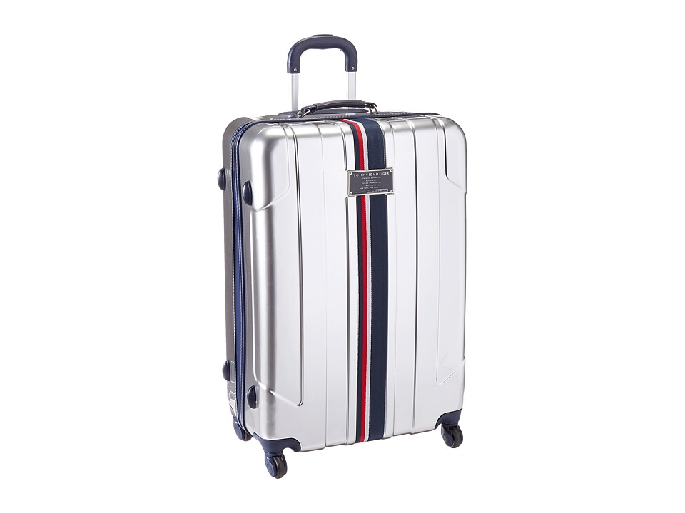 Tommy Hilfiger - Lochwood Upright 28 Suitcase (Silver) Luggage