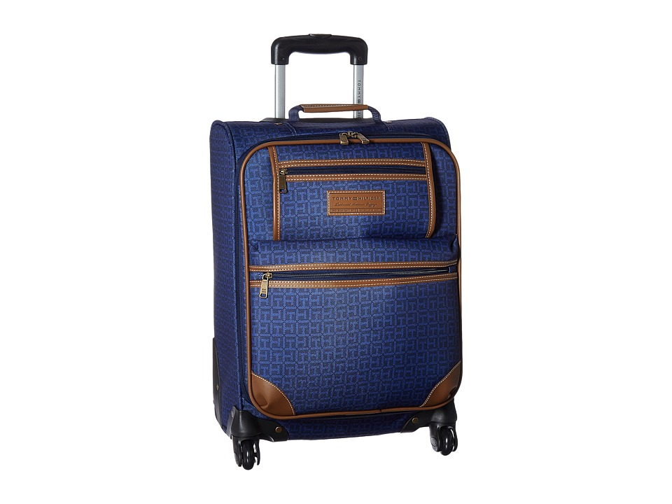 Tommy Hilfiger - Signature 2.0 21 Uptright Suitcase (Navy) Luggage