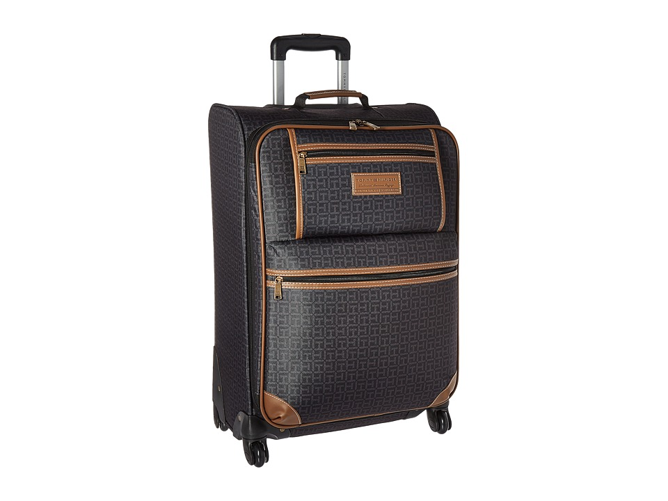 Tommy Hilfiger - Signature 2.0 25 Upright Suitcase (Black) Luggage