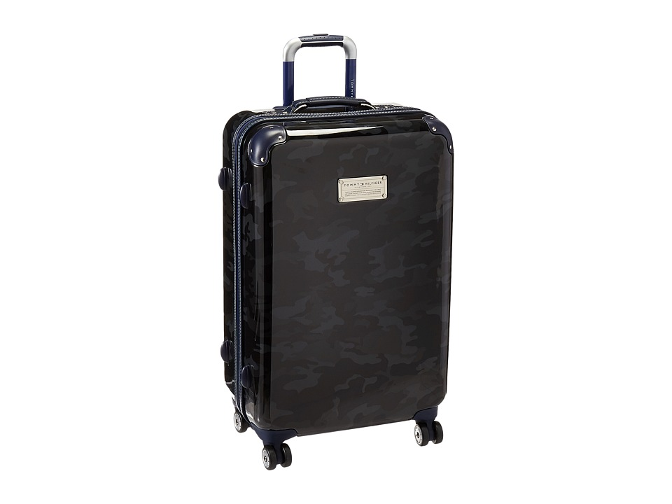 Tommy Hilfiger - East Coast Camo 24 Upright Suitcase (Black) Luggage