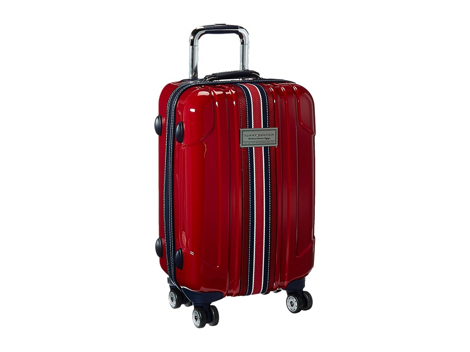 Tommy Hilfiger - Santa Monica 21 Upright Suitcase (Dark Red) Luggage