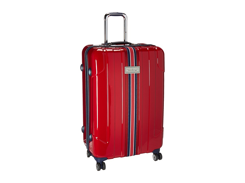 Tommy Hilfiger - Santa Monica 28 Upright Suitcase (Dark Red) Luggage
