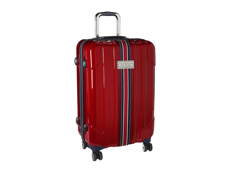 Tommy Hilfiger - Santa Monica 25 Upright Suitcase (Dark Red) Luggage