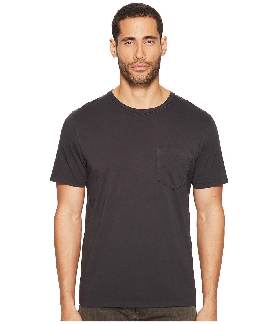 Billy Reid - Washed Tee (Black) Men's T Shirt