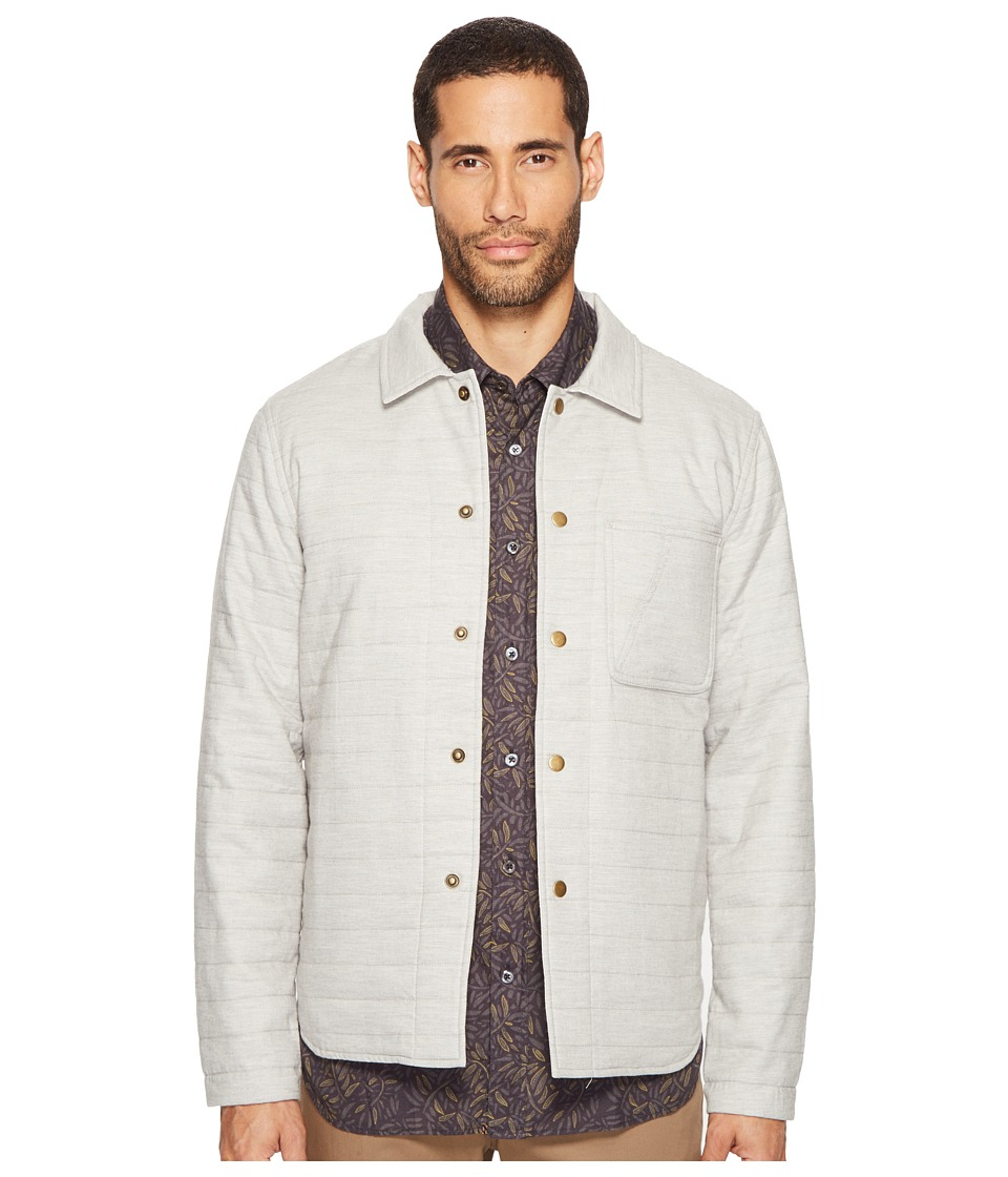 Billy Reid - Reversible Shirt Jacket (Light Grey) Men's Coat