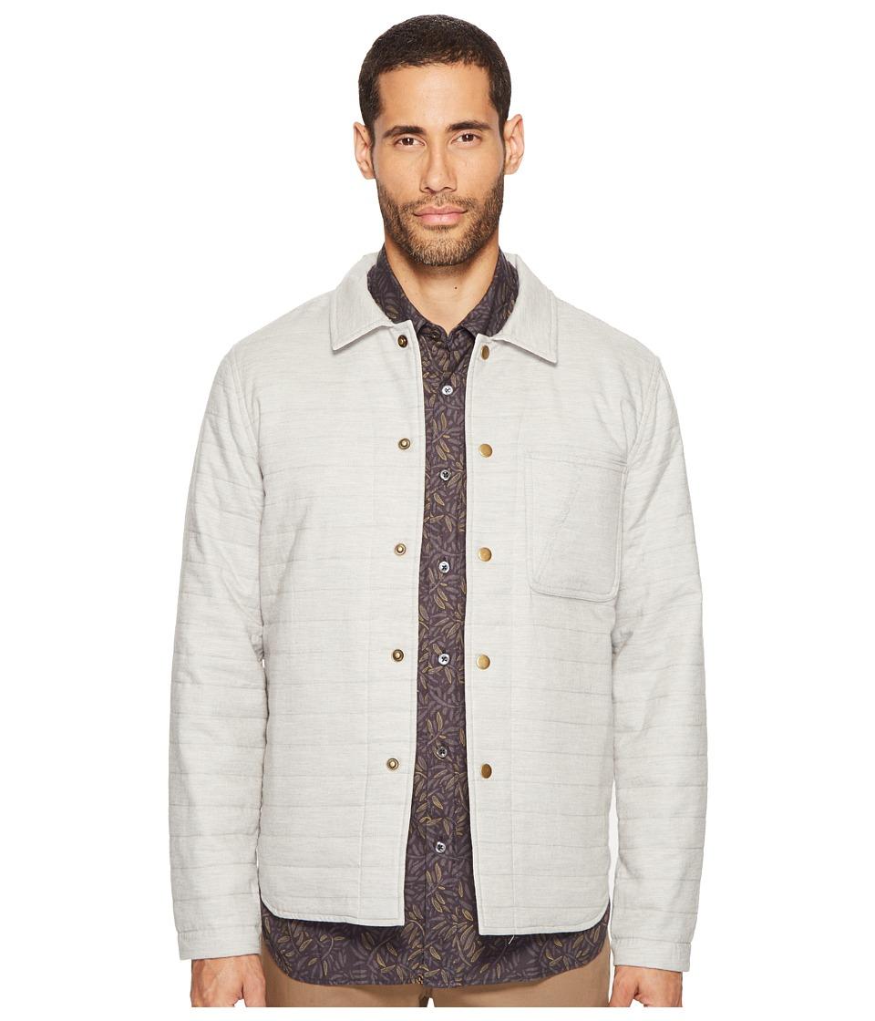 Billy Reid - Reversible Shirt Jacket (Light Grey) Men's Coat