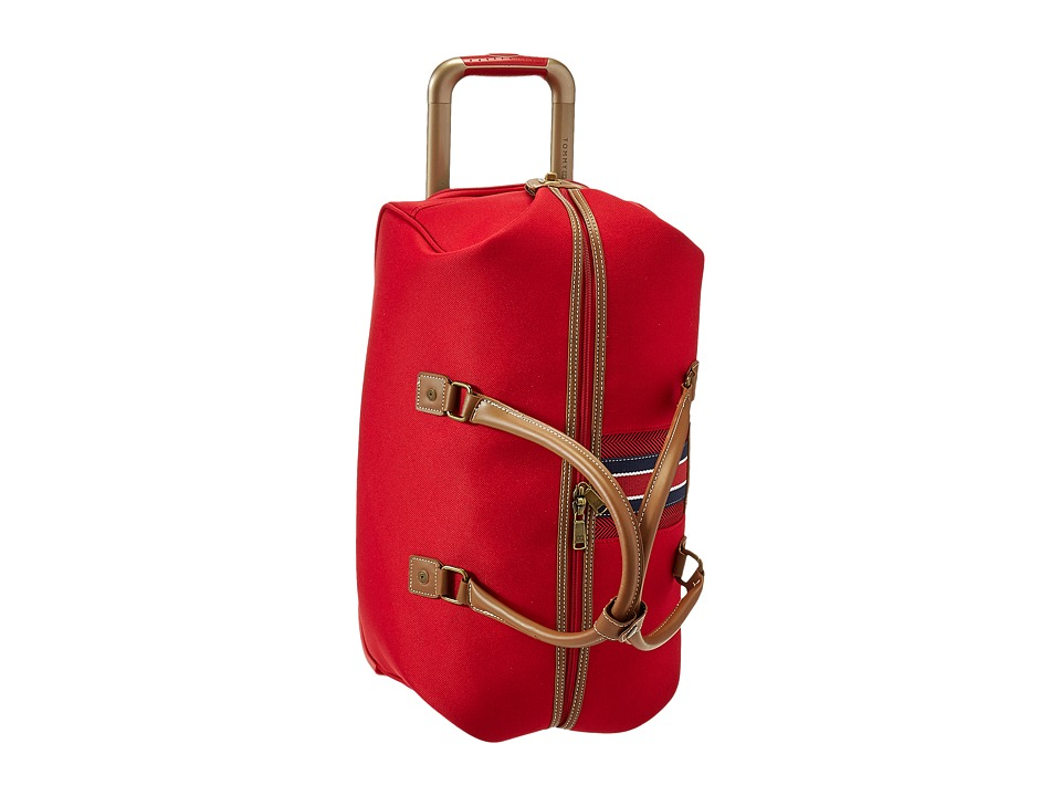 Tommy Hilfiger - Nantucket Wheeled City Bag (Red) Bags