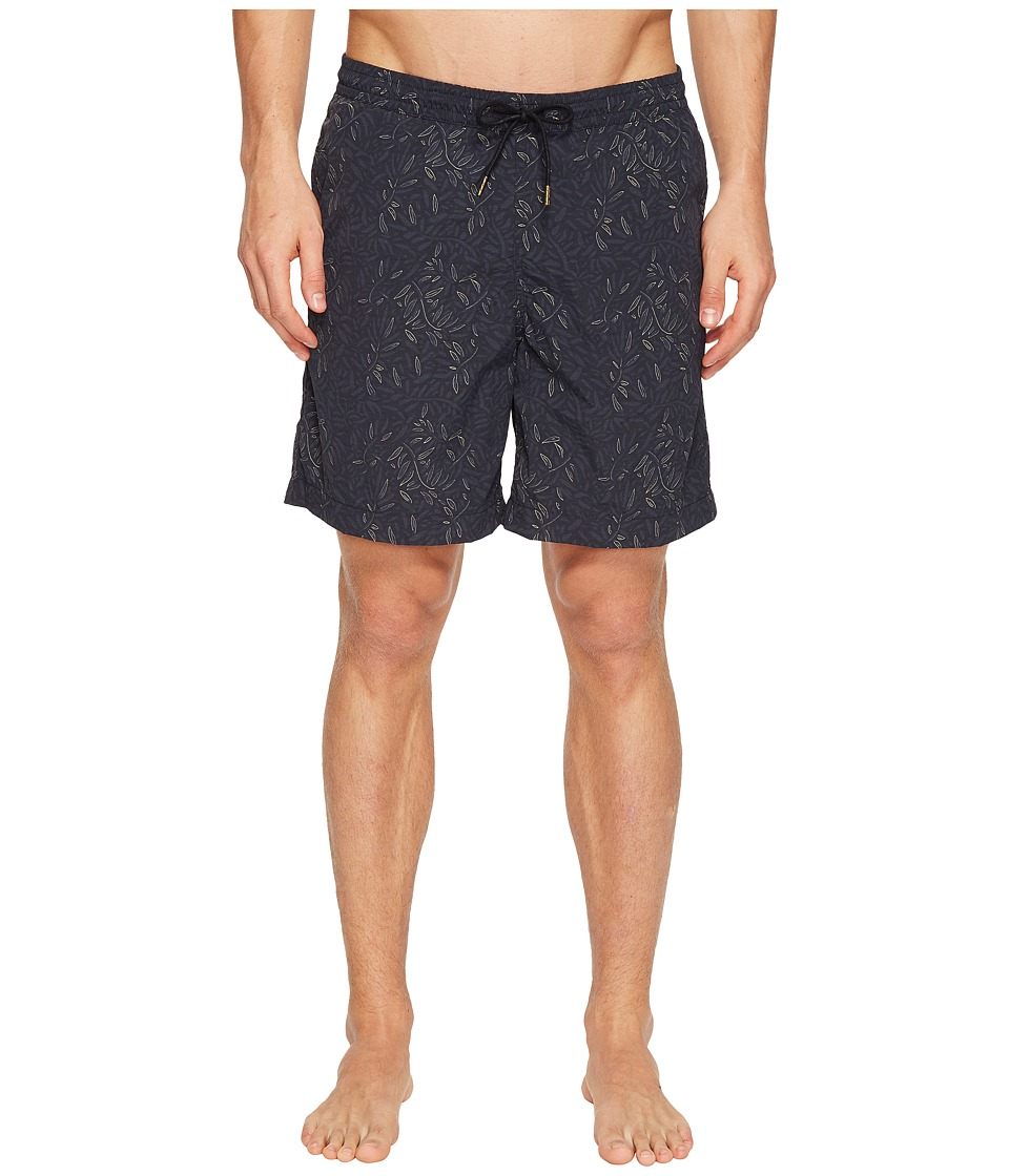 Billy Reid - Anthony Swim Shorts (Navy) Men's Swimwear
