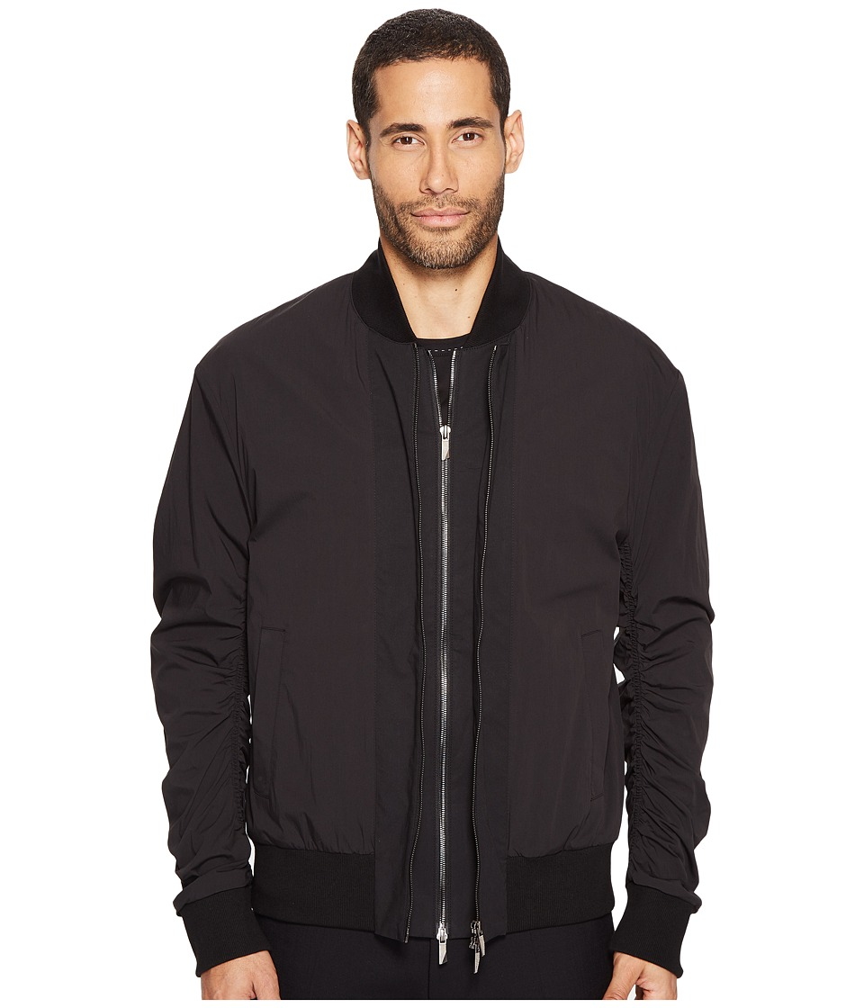 D.GNAK - Double Zip Jacket (Black) Men's Coat