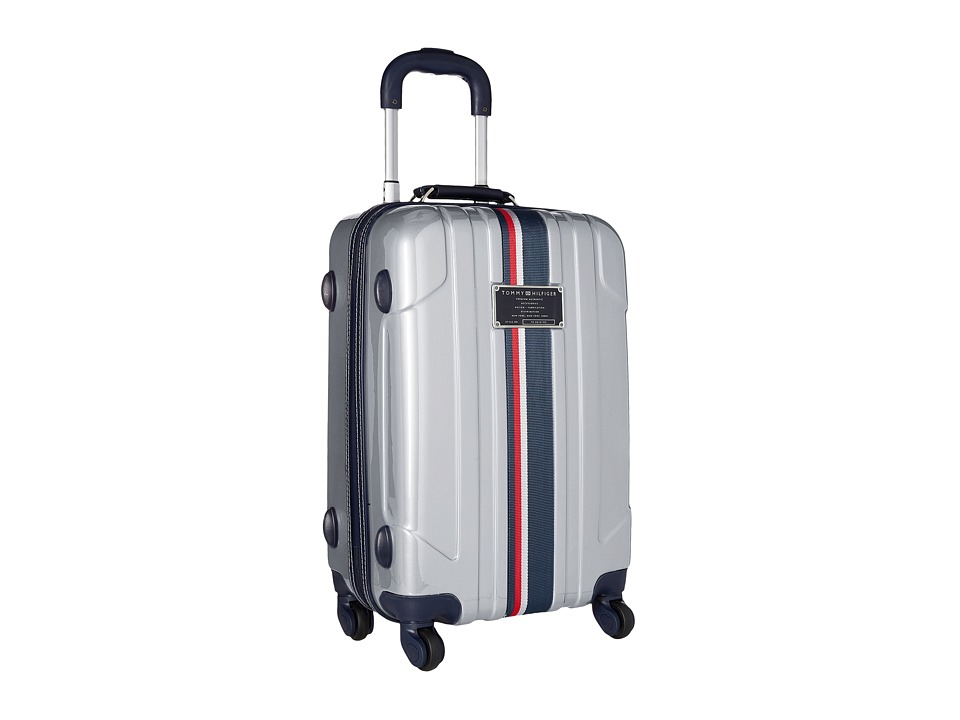 Tommy Hilfiger - Lochwood Upright 21 Suitcase (Silver) Carry on Luggage