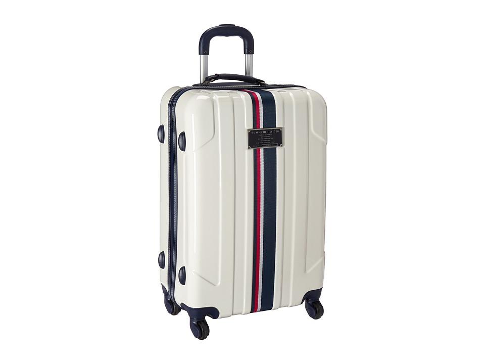 Tommy Hilfiger - Lochwood Upright 24 Suitcase (White) Luggage