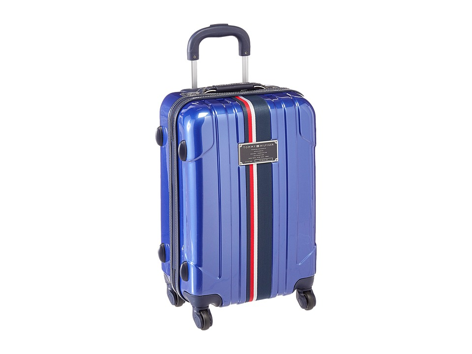 Tommy Hilfiger - Lochwood Upright 21 Suitcase (Metallic Blue) Carry on Luggage