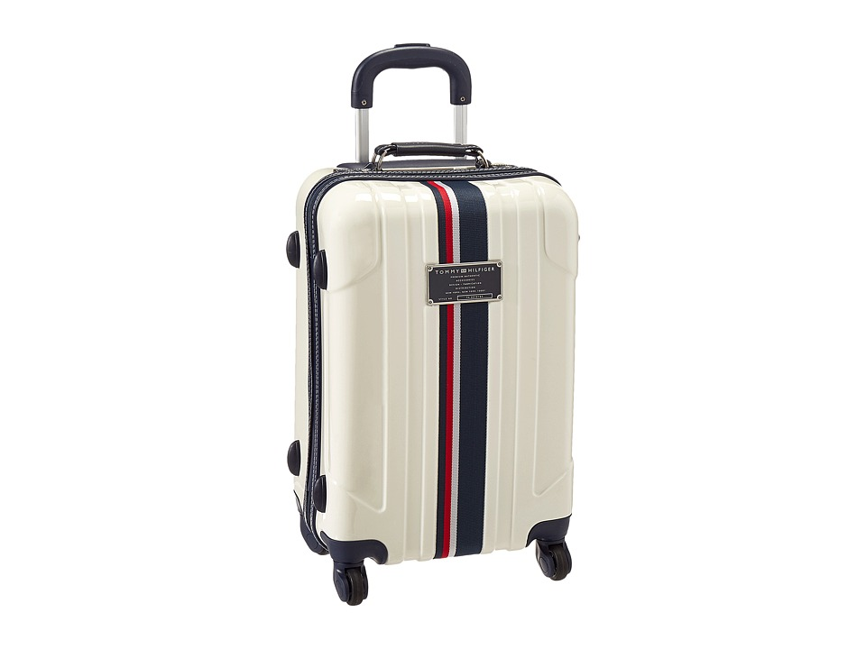Tommy Hilfiger - Lochwood Upright 21 Suitcase (White) Carry on Luggage