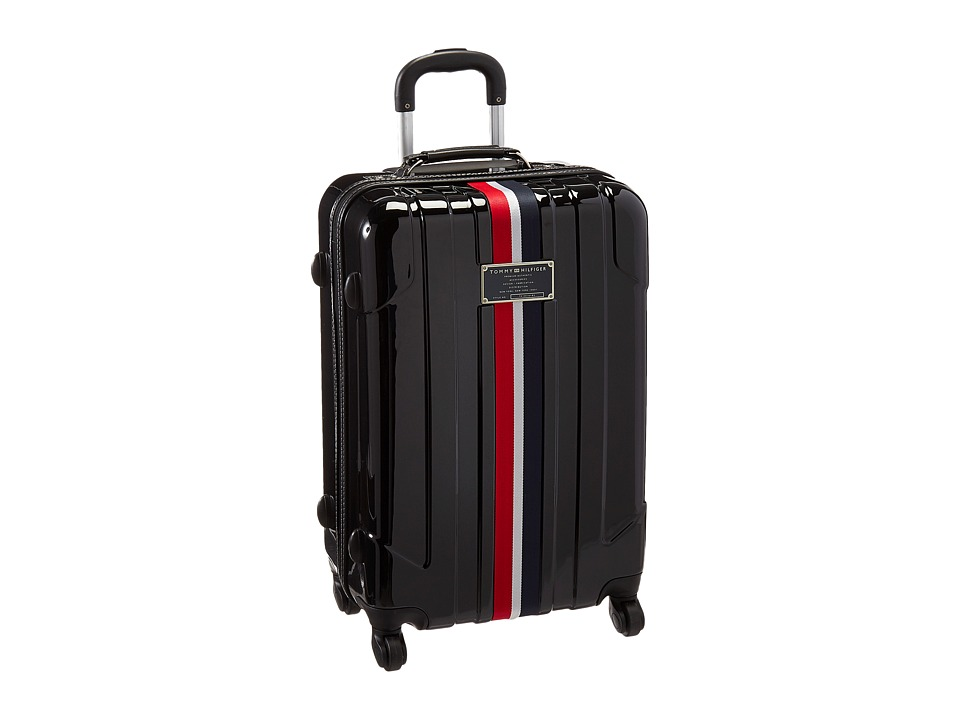 Tommy Hilfiger - Lochwood Upright 24 Suitcase (Black) Luggage