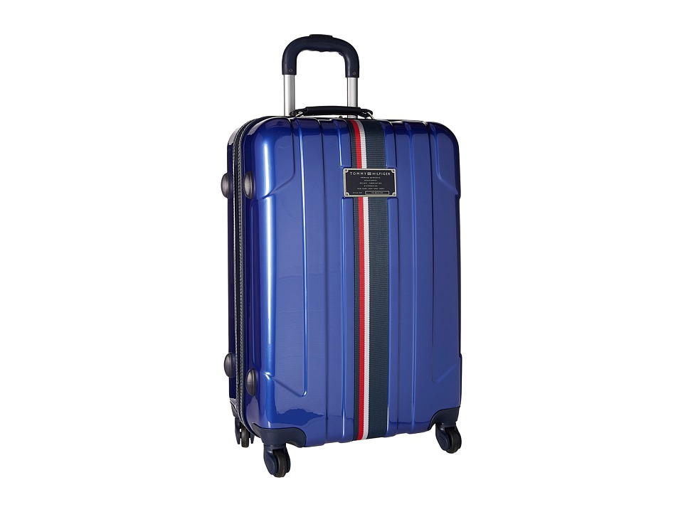 Tommy Hilfiger - Lochwood Upright 24 Suitcase (Metallic Blue) Luggage