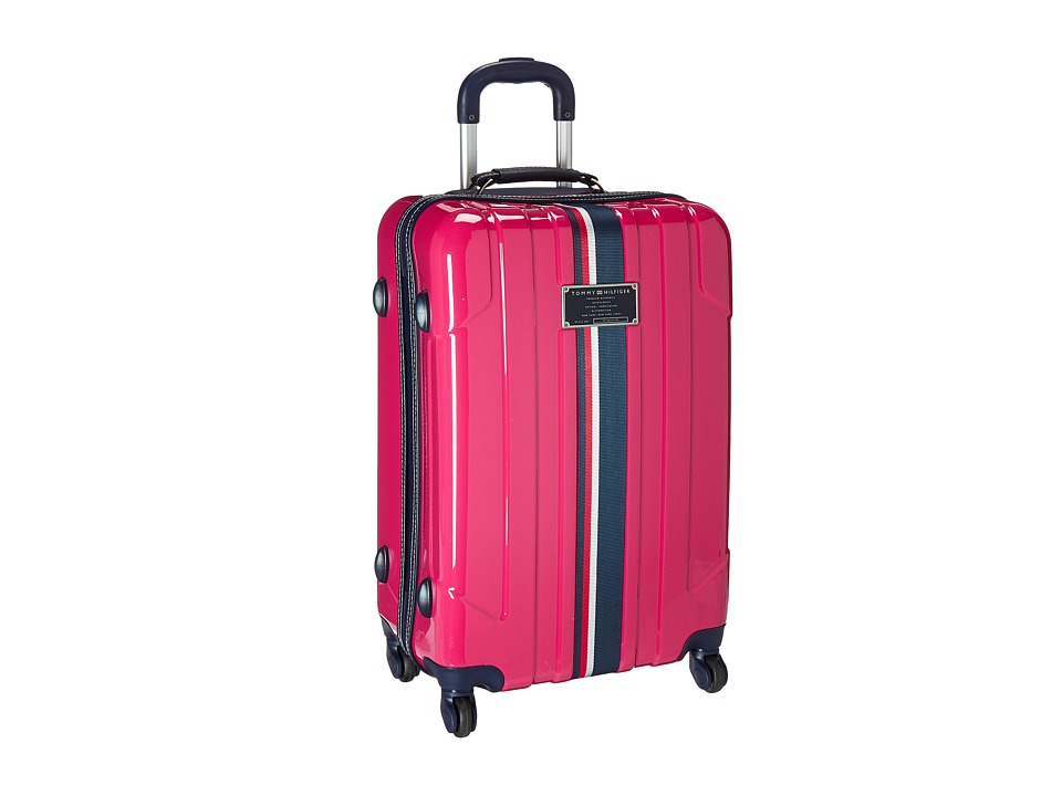 Tommy Hilfiger - Lochwood Upright 24 Suitcase (Pink) Luggage