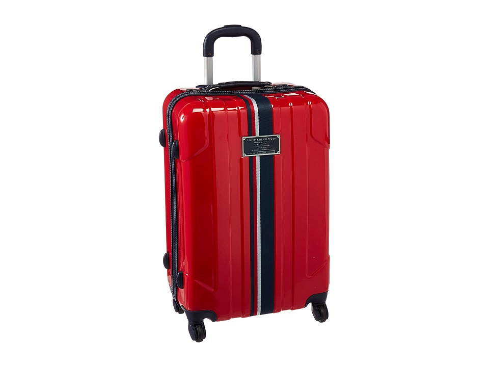 Tommy Hilfiger - Lochwood Upright 24 Suitcase (Red) Luggage