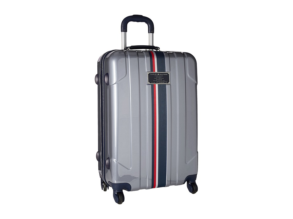 Tommy Hilfiger - Lochwood Upright 24 Suitcase (Silver) Luggage