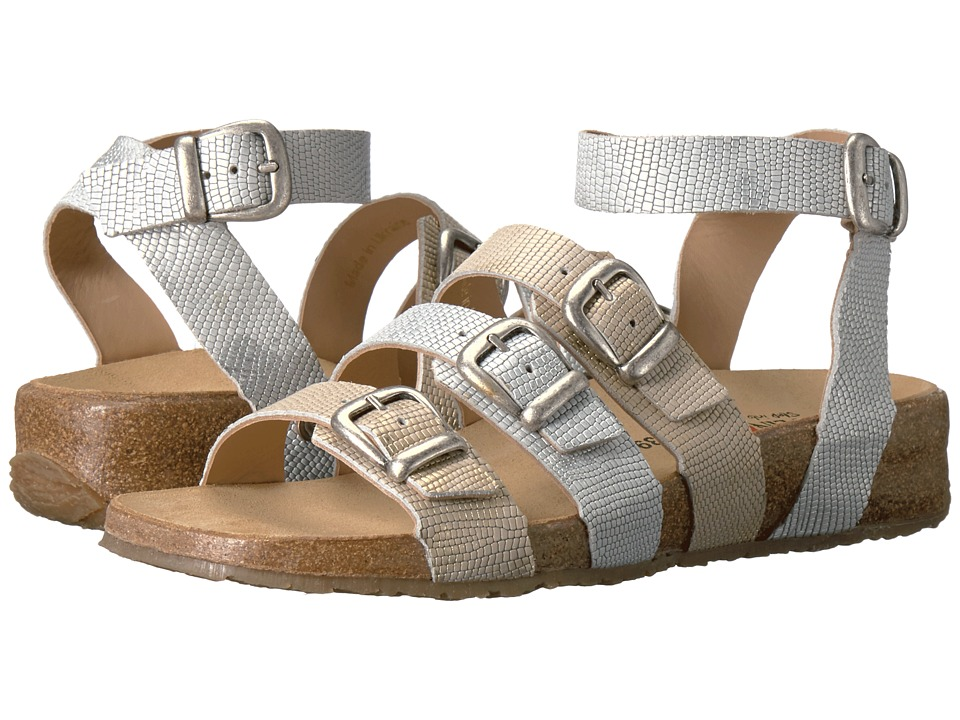 Haflinger - Darcy (Dusty Gold/Platinum) Women's Sandals