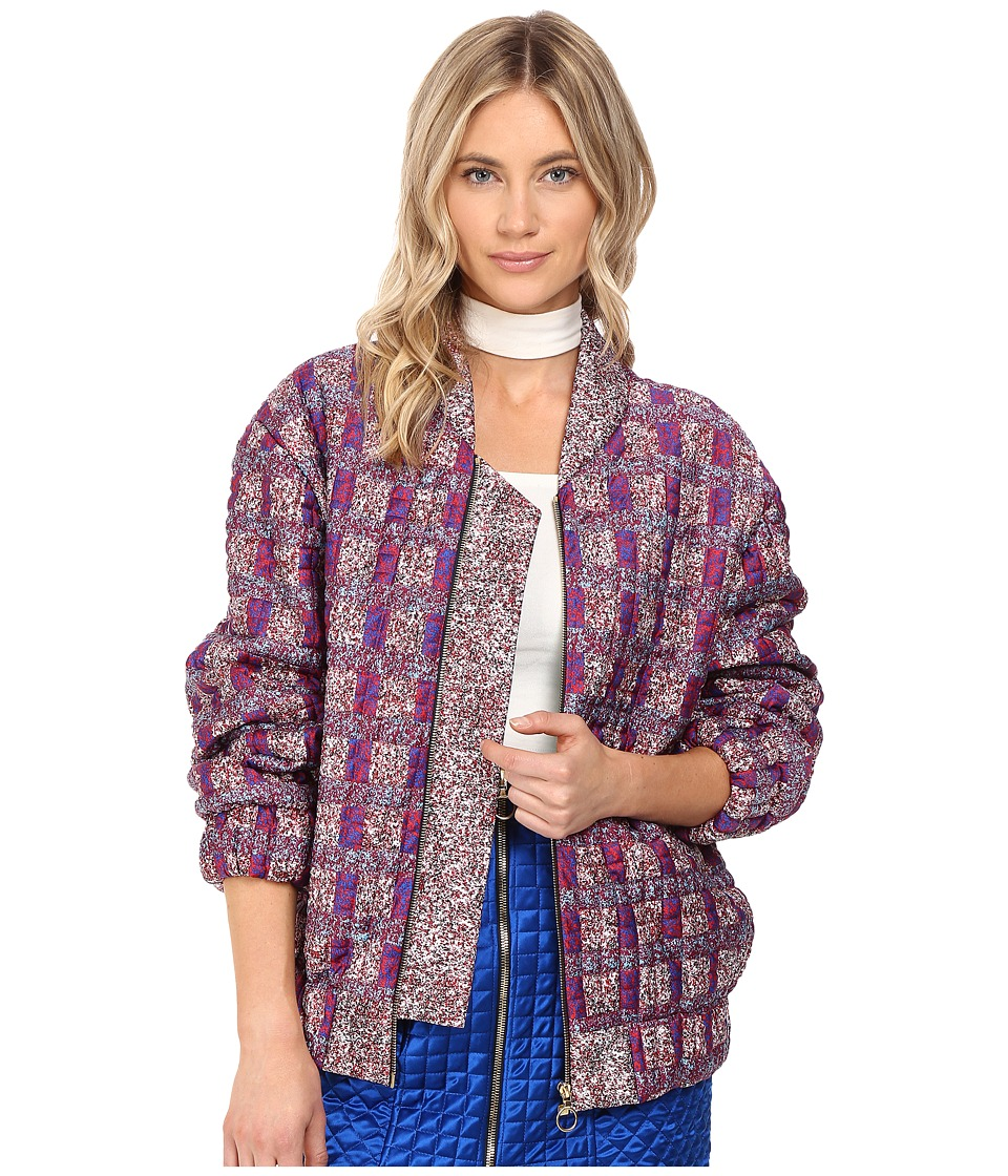 Kitty Joseph - Quilted Jacket (Printed) Women's Jacket
