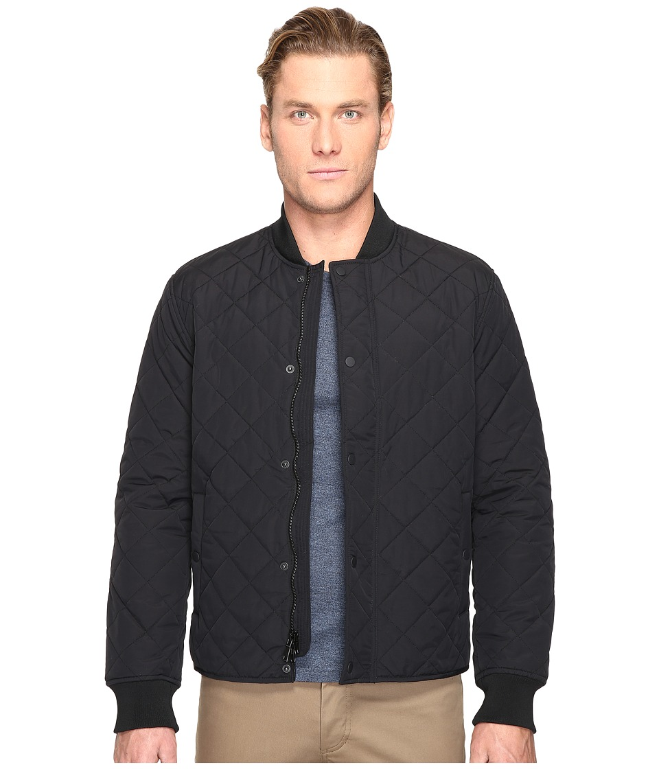 Jack Spade - Quilted Bomber Jacket (Black) Men's Coat