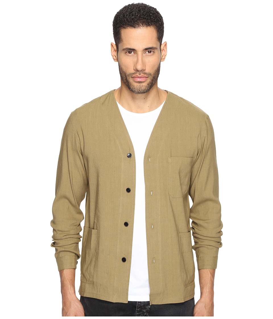The Kooples - Modern Kimono (Green) Men's Clothing