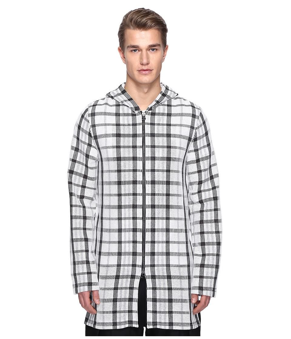 PRIVATE STOCK - Jumbo Plaid Parka (Black/White) Men's Coat