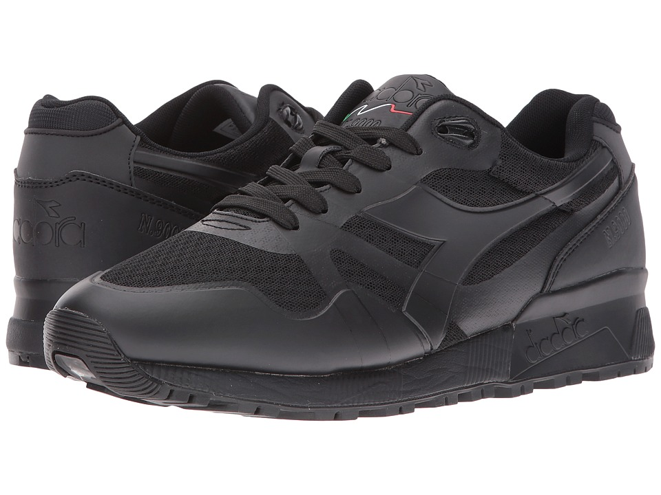 Diadora - N9000 MM II (Black/Black) Men's Shoes