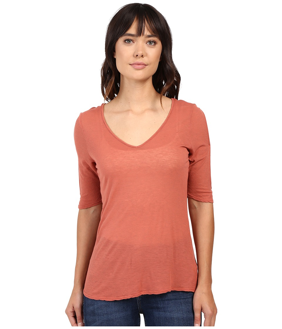 Project Social T - Taylor Cold Shoulder (Spice) Women's Clothing