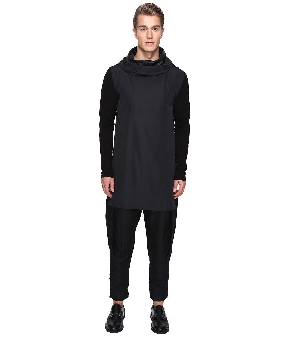 PRIVATE STOCK - Bumflap Coat (Black) Men's Coat