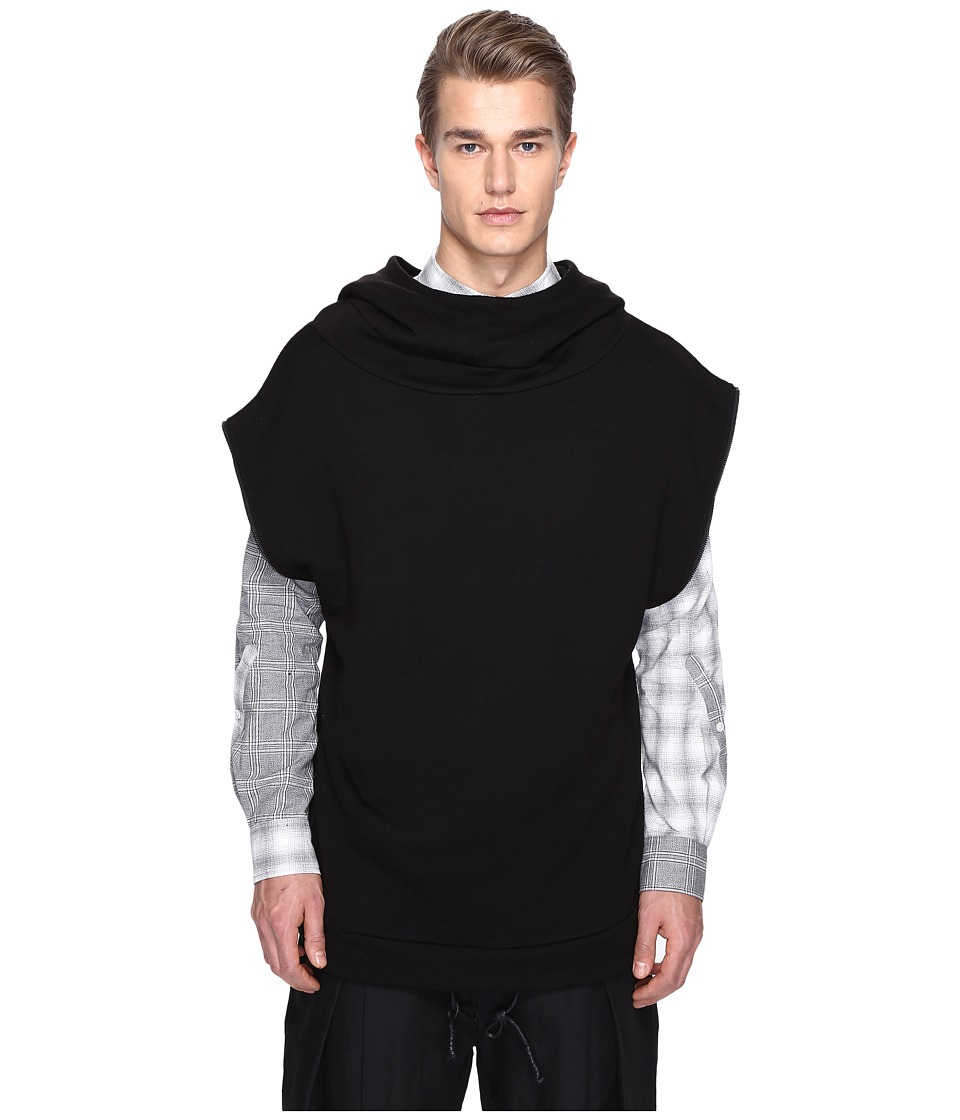 PRIVATE STOCK - Wreckin Machine Hooded Top (Black) Men's Clothing