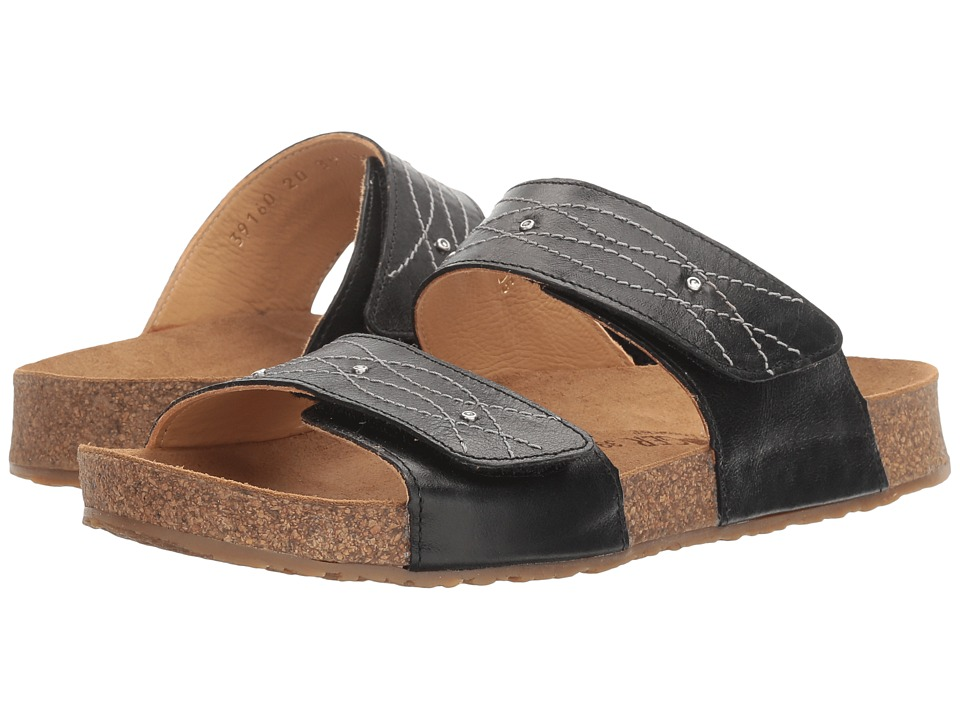 Haflinger - Carrie (Black) Women's Sandals