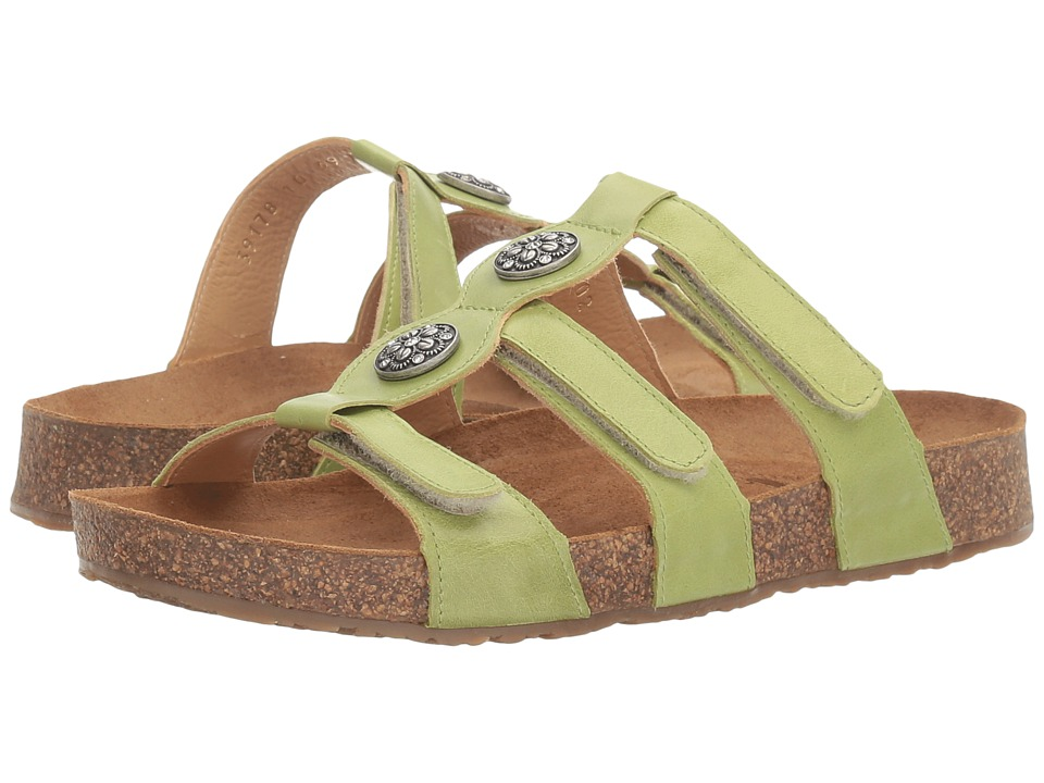 Haflinger - Alice (Lime) Women's Sandals