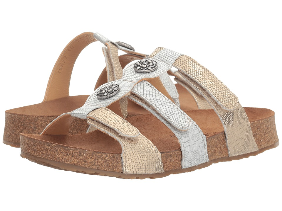 Haflinger - Alice (Dusty Gold/Platinum) Women's Sandals