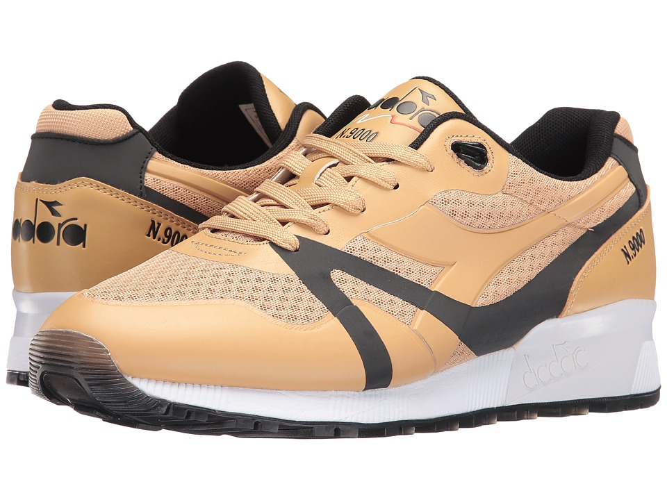 Diadora - N9000 MM Bright II (Sand/Black) Men's Shoes