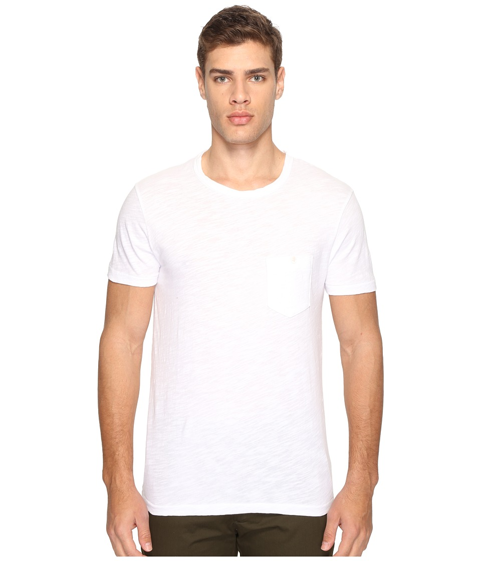 Todd Snyder - Classic Pocket T-Shirt (White) Men's T Shirt