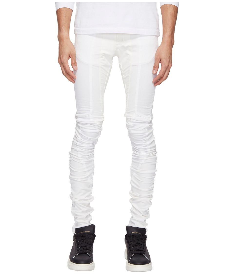 PRIVATE STOCK - Architect Trousers (White) Men's Clothing
