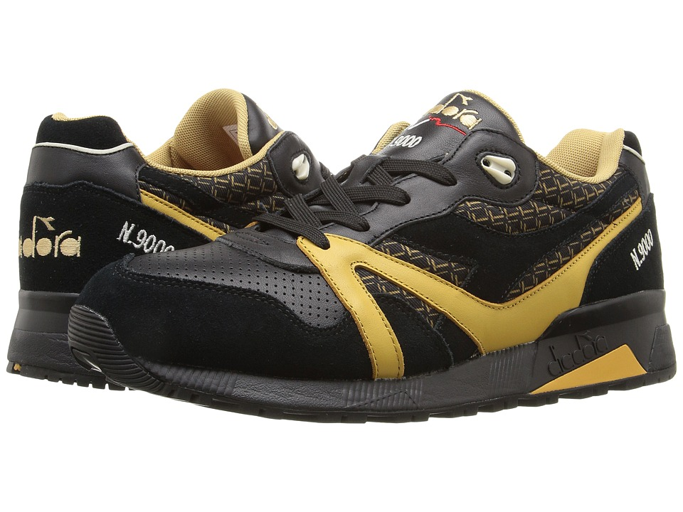 Diadora - N9000 Little Italy (Black) Men's Shoes