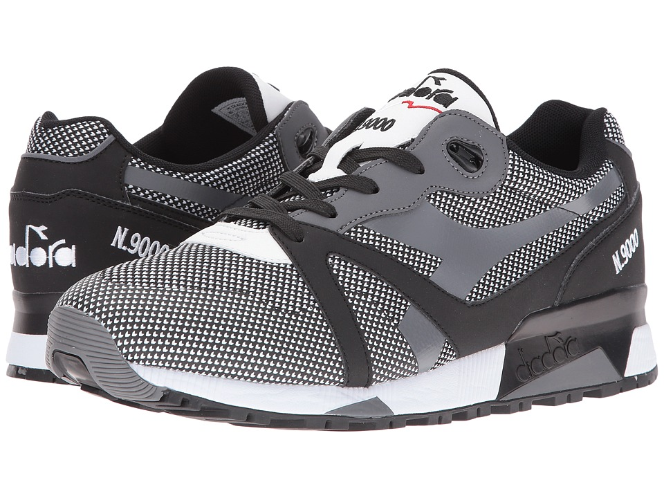 Diadora - N9000 Arrowhead (Black/White) Men's Shoes