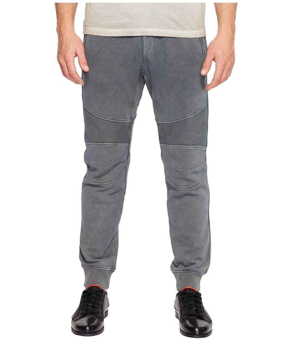 Image of BELSTAFF - Ashdown 2.0 Vintage Fleece Garment Dyed Sweatpants (Cedar Green) Men's Casual Pants