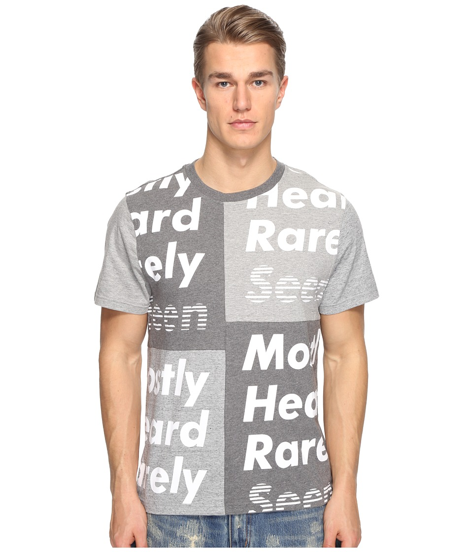 Mostly Heard Rarely Seen - Namesake Tee (Multi Gray) Men's T Shirt
