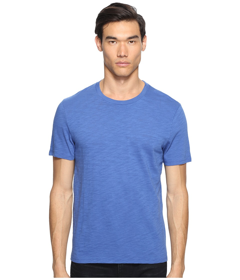 Vince - Crew Neck T-Shirt (Majorelle Blue) Men's T Shirt
