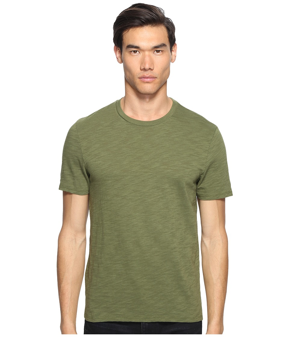 Vince - Crew Neck T-Shirt (Olive) Men's T Shirt