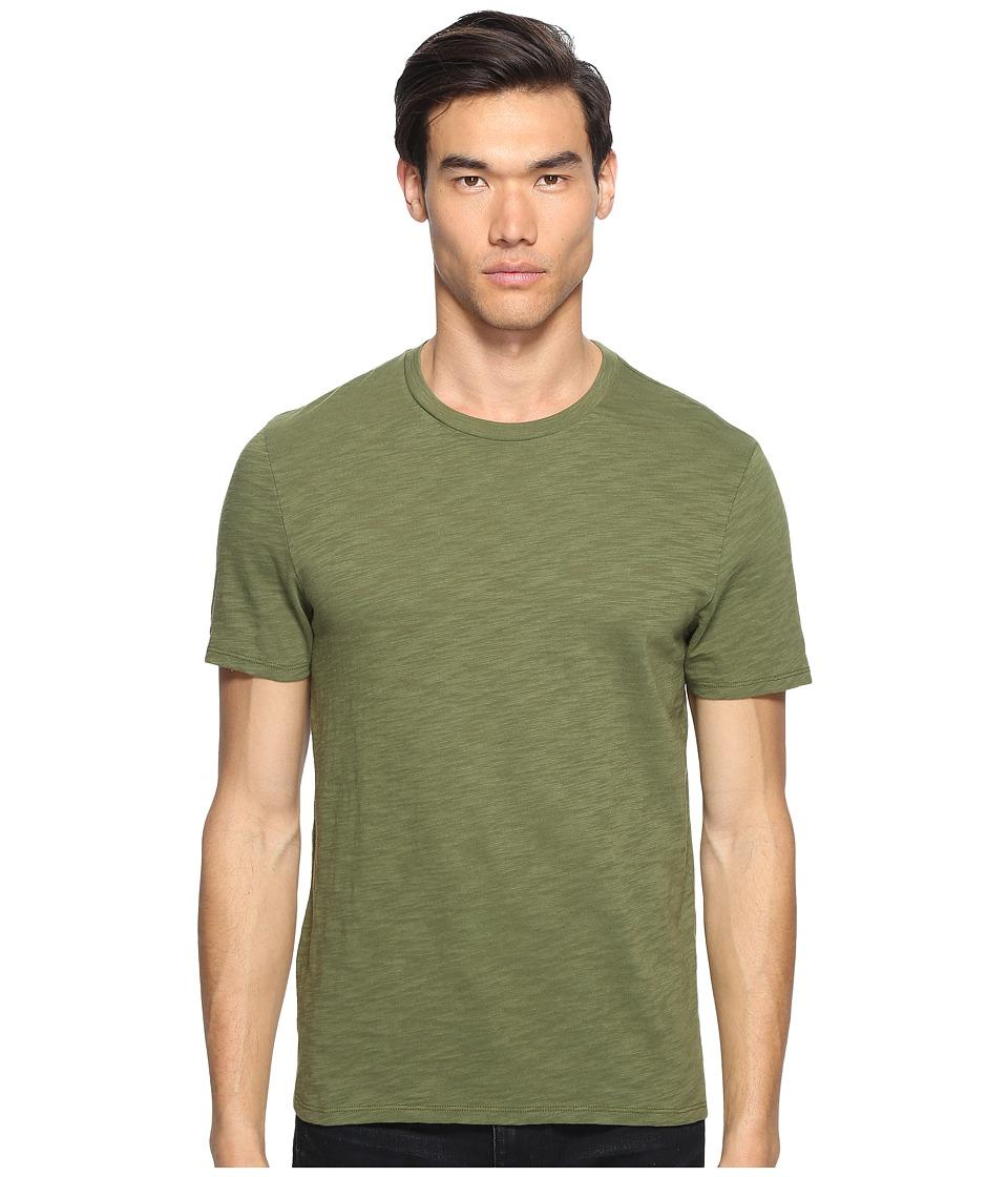 Vince - Crew Neck T-Shirt (Olive) Men's T Shirt