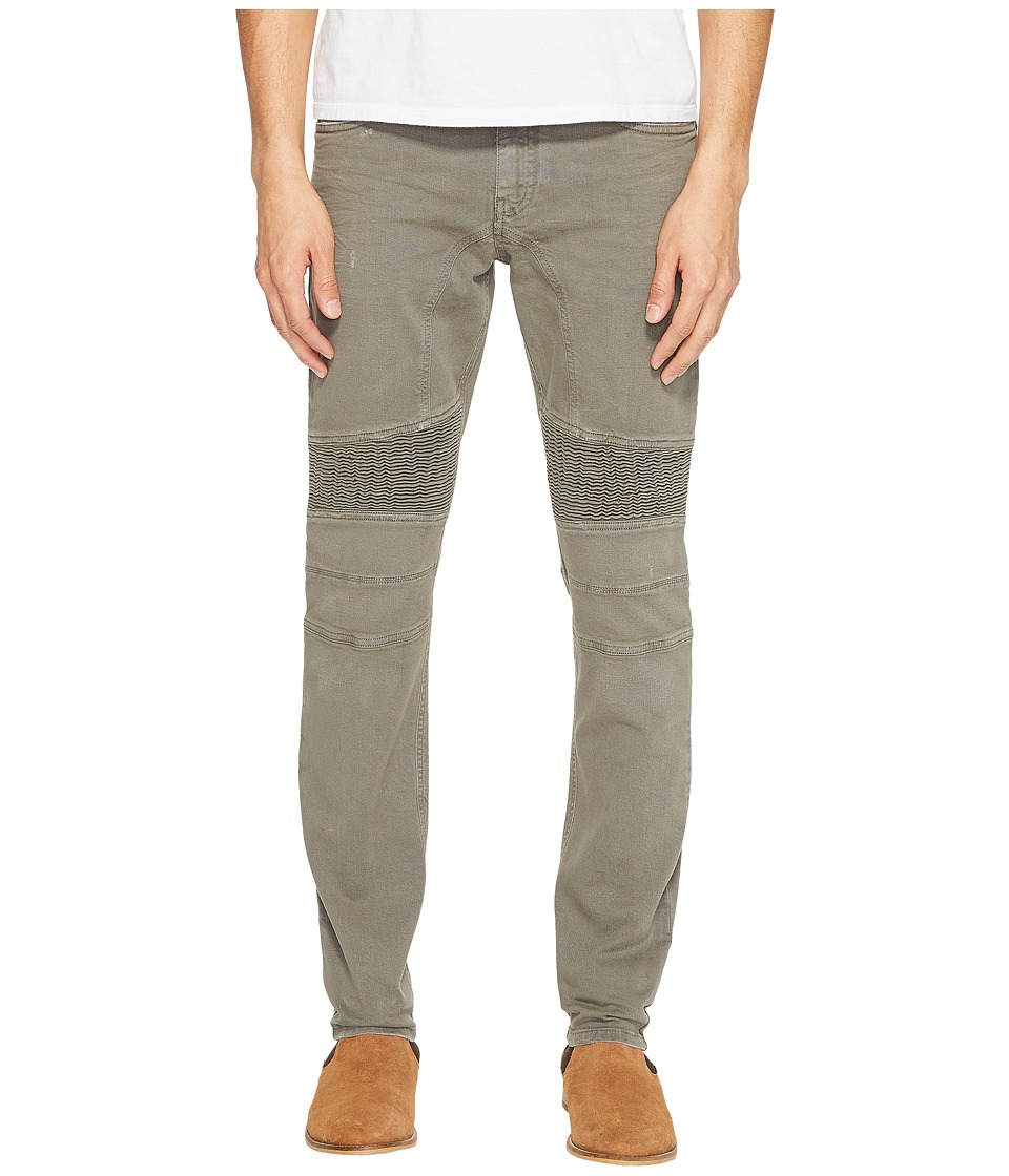 BELSTAFF - Eastham Slim Stretch Vintage Motor Denim in Dusty Sage (Dusty Sage) Men's Jeans