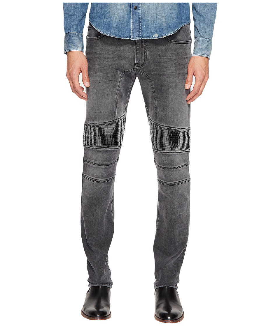 BELSTAFF - Eastham Slim Fit Washed Stretch Denim in Charcoal (Charcoal) Men's Jeans