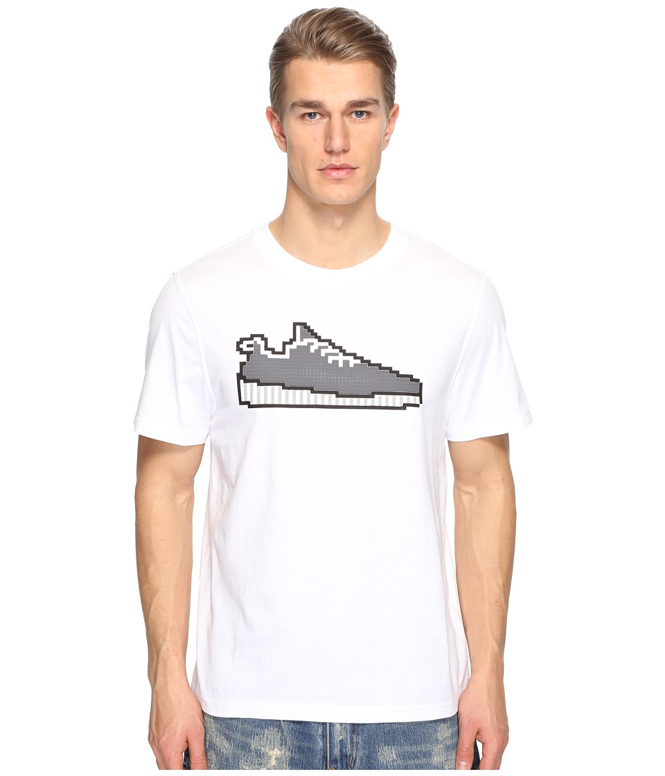 Mostly Heard Rarely Seen - Yeewest Sneaker Tee (White) Men's T Shirt